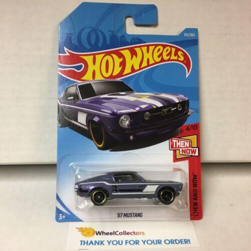'67 Mustang #315 * PURPLE * 2018 Hot Wheels P Case Intern * ha25