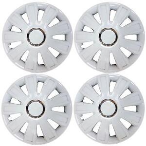 Set-of-4-White-Wheel-Trims-Hub-Caps-15-034-Covers-fits-Ford-Fiesta-Focus-KA