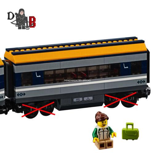 LEGO City Passenger train 60197 Passenger Carriage only No Bogey//Wheels