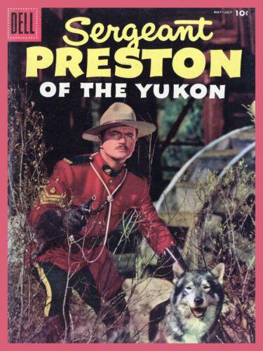 Decoration Poster.Home room art.Interior design.Sergeant Preston from Yukon.7173