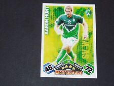 HUNT WERDER BREMEN TOPPS MATCH ATTAX PANINI FOOTBALL BUNDESLIGA 2010-2011