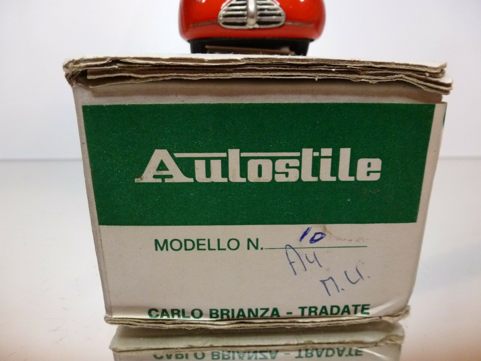 AUTOSTILE BRIANZA 10 ALFA ROMEO 163 - 1941 - - - RED 1 43 RARE - EXCELLENT IN BOX 94af5c