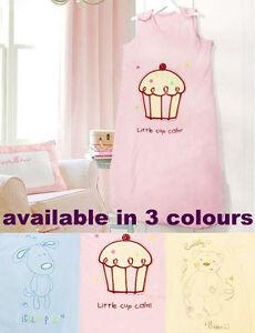 AVENUE-Girl-or-Boy-Baby-Sleeping-Bag-size-6-12-Months-2-5-TOG-Length-80cm