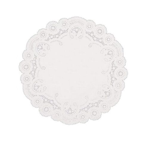 SafePro 18LD 18-Inch White Round Lace Paper Doilies 500//CS