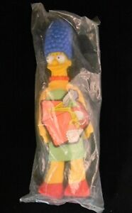 VINTAGE ~ 1990 Burger King The Simpsons MARGE SIMPSON Plush STUFFED DOLL W/tag