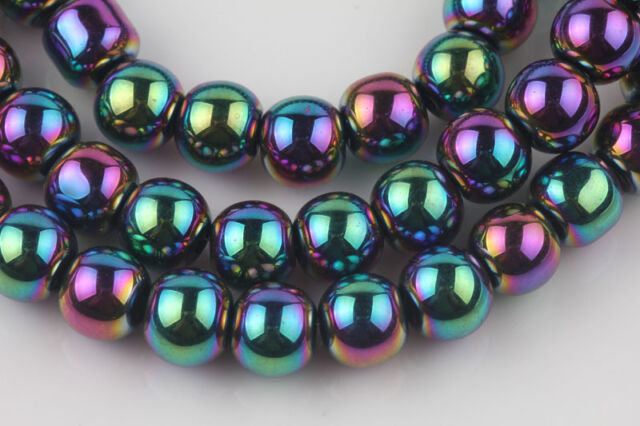Jewelry Finding Charms Czech Crystal Glass Loose Round Spacer Beads DIY 6/8/10mm