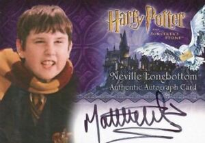 Harry-Potter-and-the-Sorcerer-039-s-Stone-Matthew-Lewis-Autograph-Card
