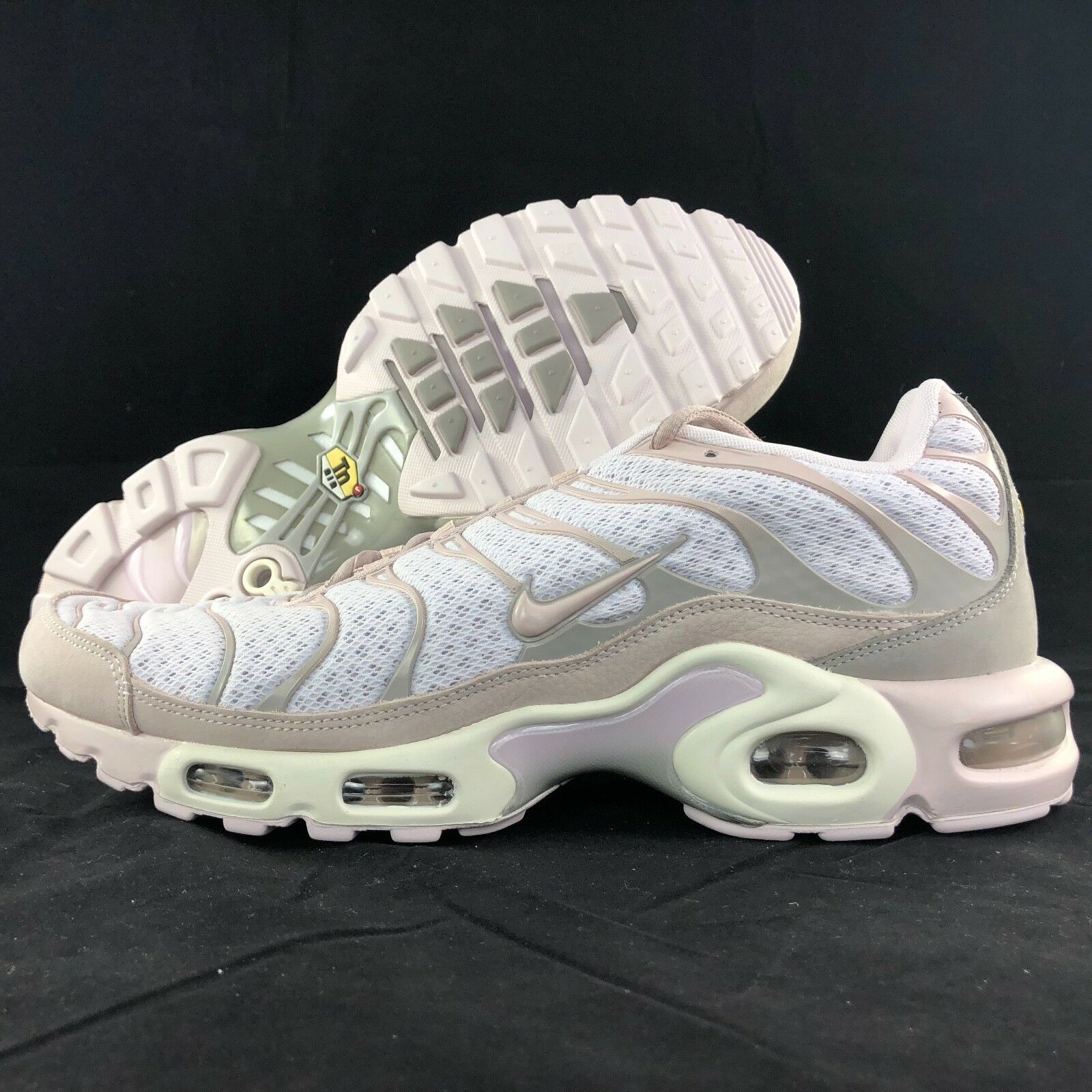 Nike NikeLab Air Max Plus Pearl Pink Cobblestone White 898018-600 Men's 10-12