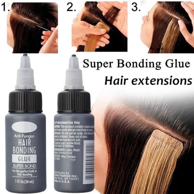 Salon Pro 30ml Anti Fungus Hair Bonding Weave Wig Extension Liquid