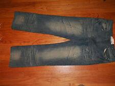 Men's F.U.S.A.I. Focus Distressed Fashion Jeans 30 X 32 Good Work Pants