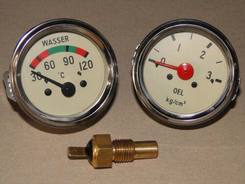 Geber M14 für Hanomag Traktor Schlepper Fernthermometer Öldruckanzeige