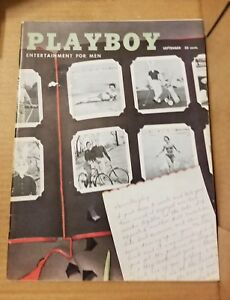 PLAYBOY-SEPTEMBER-1956-Good-Condition-Free-Shipping-USA