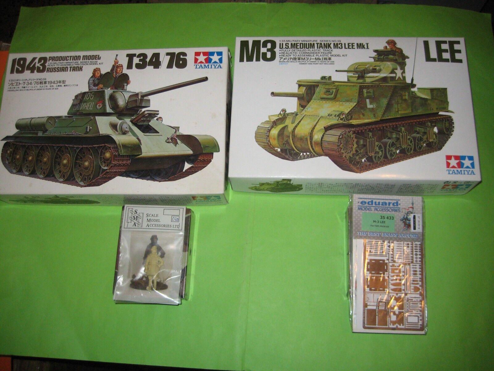 WW WW WW II TANKS MODEL KITS 1 35 SCALE - KOMBO SET 36d2df