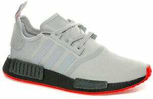 sale retailer 0db4c 493d9 Details about adidas Originals NMD_R1 GREY BLACK Boost Casual Trainers Size  UK 6.5 - 11.5