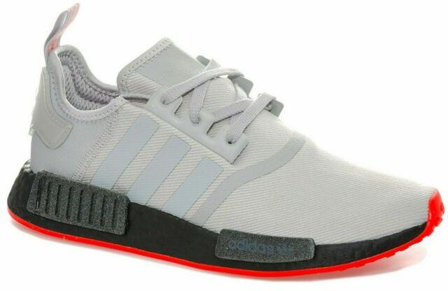 gorąca sprzedaż online produkty wysokiej jakości buty do biegania adidas Originals NMD_R1 GREY BLACK Boost Casual Trainers Size UK 6.5 - 11.5