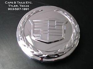2005-2014-Cadillac-Escalade-ESV-EXT-center-cap-9595891-Chrome-NEW-OEM