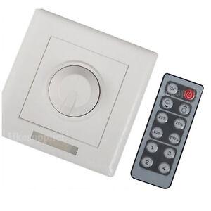 12-24V-8A-IR-Remote-LED-Light-Dimmer-Brightness-Control