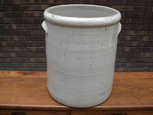 ANTIQUE-12-CROCK-WITH-HANDLES-NICE-OZARK-MO-MISSOURI-SPRINGFIELD