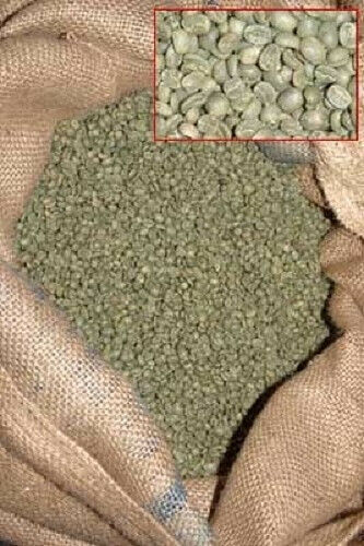 25 Lbs Panama Hard Bean Green Coffee Beans For Sale Online
