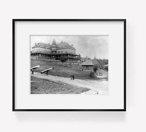 Vintage-c1890-photograph-of-Adirondack-Mountains-N-Y-Hotel-Wawbeek-Upper-Sar