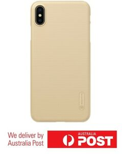 Super-Frosted-Shield-Cover-Case-for-Apple-iPhone-XS-Max-Gold-New-Launch