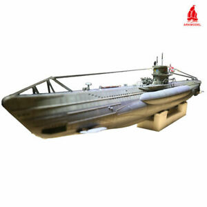 Arkmodel 1 48 German U-boat Type VIIC RC Submarine With Single Pump Tank  WTC Kit