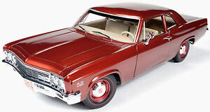 1966-Chevy-Biscayne-Bronze-1-18-Autoworld-1053