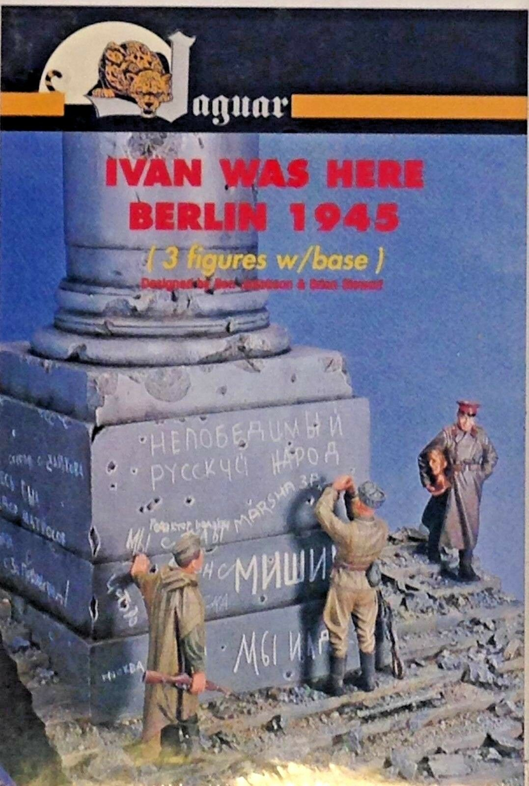 1 35 JAGUAR IVAN WAS HERE BERLIN 1945 VIGNETTE. NEW.