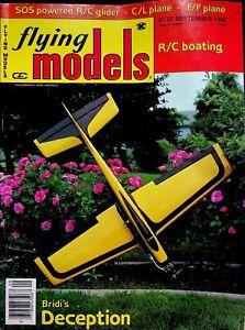 Vintage Flying Models Magazine September 1980 Bridi's Deception  m301