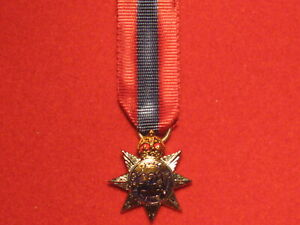 Miniature-Imperial-Service-Order-Medal-ISO-Medal-George-VI-GVI-in-Mint-Condition