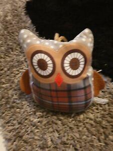 Owl Doorstop Novelty Door Stop Stopper Filled Heavy Fabric Weighted Home Ebay