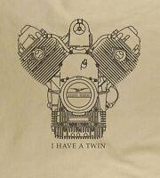 Moto Guzzi classic motorcycle T-shirts Italian Bike Natural Gildan tee shirt