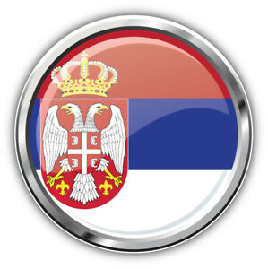 "Slovenia Flag Glossy Silver Medal Car Bumper Sticker Decal /""SIZES/"""