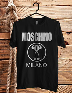 51be489db Image is loading New-Moschino-Milano-Moschino-Black-And-White-Shirt-