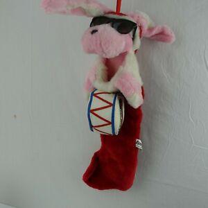 Energize Bunny Plush Vintage Christmas Stocking