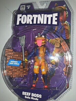 BRAND NEW Jazwares Fortnite Series 4 BEEF BOSS Solo Mode Action Figure IN HAND