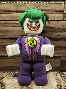The Lego Batman Movie The Joker 12 Plush New Ebay