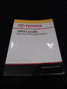 1993 toyota corolla service manual free download