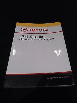 1993 TOYOTA Corolla Electrical Wiring Diagram Repair ...