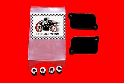 Honda VTR 1000 cc SP1 SP2 SP 1 2 Exhaust Plate AIS Smog PAIR Block Off Kit