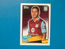 Topps Merlin's Premier League 2016 Sticker n. 67 Carles Gil Aston Villa