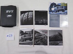 OEM 2014 Ford F-150 SVT Raptor Owners Manual Set with Case ...