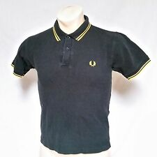 VTG Fred Perry Polo Shirt Rugby Laurel Wreath Twin Tipped Golf Mod Ska Small