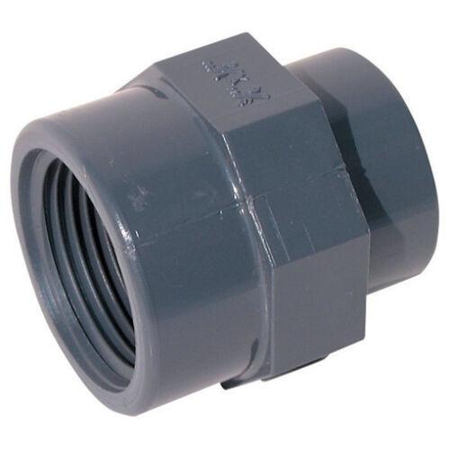 BSP macho extremo roscado plástico de grado industrial de presión Parada Enchufe de tuberías de PVC