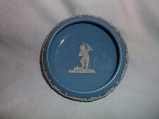 Dudson Hanley England Jasper Ware Pin Dish Jasperware Cherub & Laurel Blue