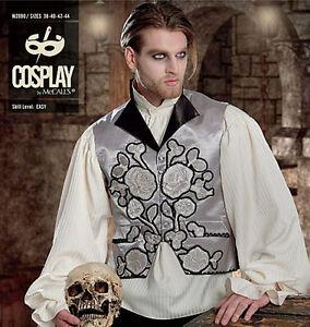 McCalls-Sewing-Pattern-2090-COSPLAY-034-THIRST-034-Waistcoat-Vampire-Men-039-s-38-44-NEW