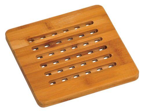 Bambú de posavasos de Kalsi para soporte de olla 58741 macetas 19 x 19 x 1,4 cm