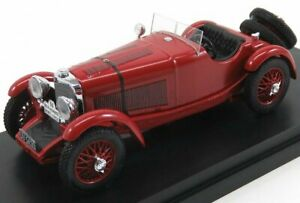 RIO-MODELS 1/43 MERCEDES BENZ | SSK SPIDER N 91 76th RALLY MONTECARLO 1930 HO...