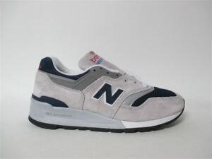 New-Balance-997-Made-in-USA-Grey-Navy-Blue-Atmos-White-Sz-8-M997WEB