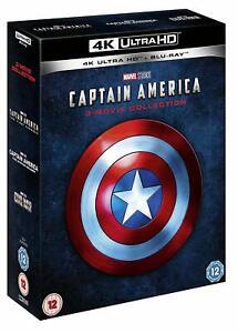 Capitan-America-1-3-Coleccion-de-Pelicula-4K-Ultra-Hd-Blu-ray-Marvel-trilogia-UHD